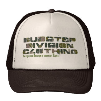 """Dubstep Division Clothing """"Camou"""" Trucker Hat"""