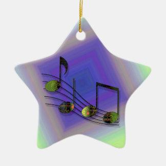 Dubstep Notes Ornament