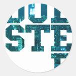 Dubstep NYC Classic Round Sticker