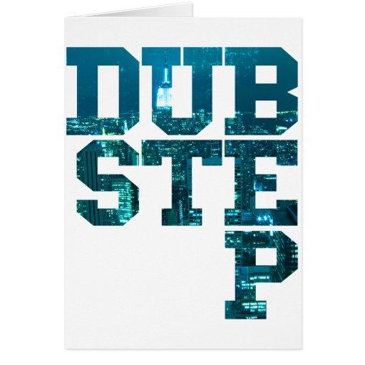 Dubstep NYC Greeting Card