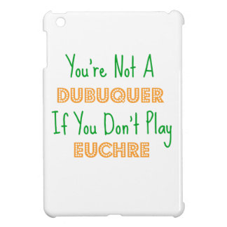 Dubuque, Iowa Euchre Card Game Products iPad Mini Covers