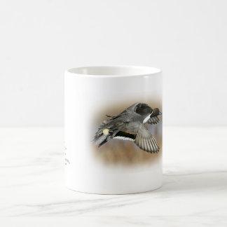 duck hunting pintail coffee cup morphing mug