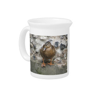 Duck on a Wall Pitcher