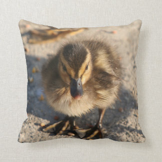 Duckling Baby Duck Bird Wildlife Animal Pillow