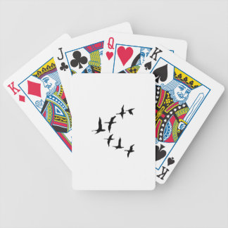 DUCKS IN FLIGHT BICYCLE PLAYING CARDS
