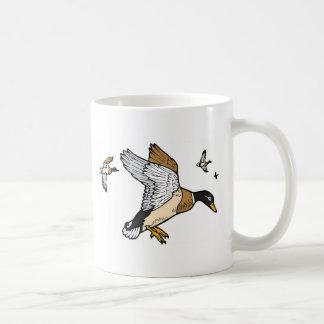 Ducks Basic White Mug