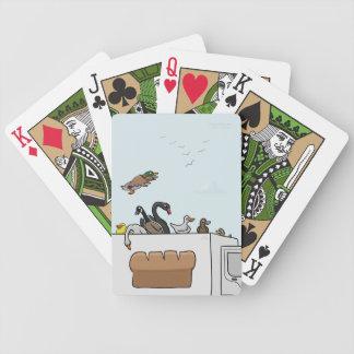 Ducks on Trucks Playing Cards