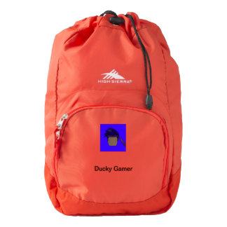 Ducky Gamer Backpack! Backpack