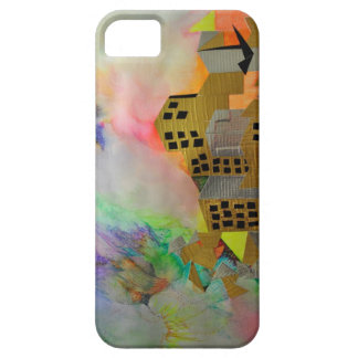 Duct Tape Abstract City iPhone Cover