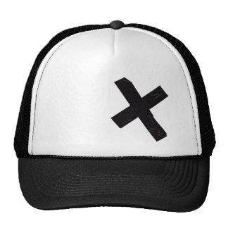 duct-tape trucker hat