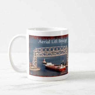 Duluth Aerial Lift Bridge & Roger Blough mug