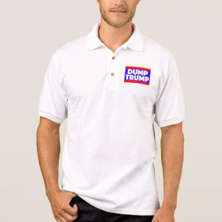 Dump Trump Men's Polo Shirt
