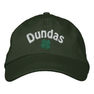 Dundas - Four Leaf Clover - Customized Embroidered Hat