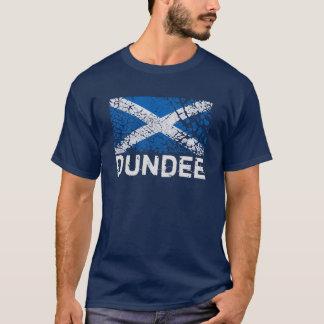Dundee + Grunge Scottish Flag T-Shirt