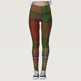 Dundee Tartan Clan Plaid Leggings