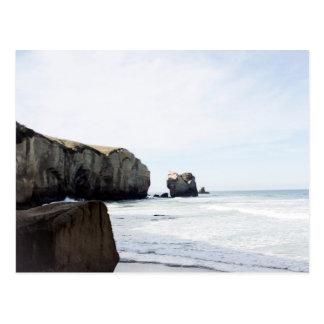 Dunedin beach postcard