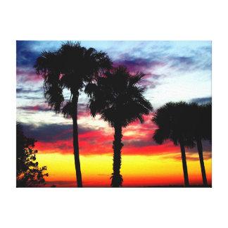 Dunedin, Florida Sunset 1 Canvas Print