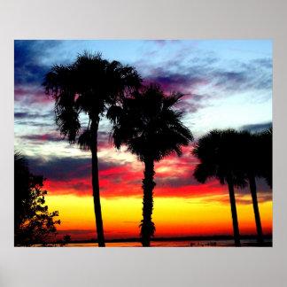 Dunedin, Florida Sunset 1 Print