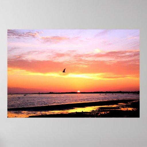 Dunedin, Florida Sunset 3 Poster
