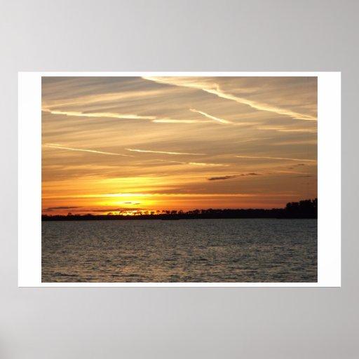 Dunedin Florida Sunset Posters