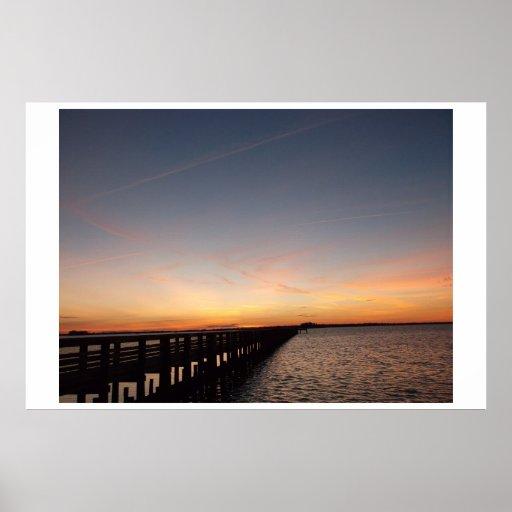 Dunedin Florida Sunset Print