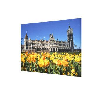 Dunedin Railway Station Gallery Wrap Canvas