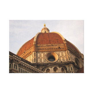 Duomo and Florence at sundown Canvas Prints