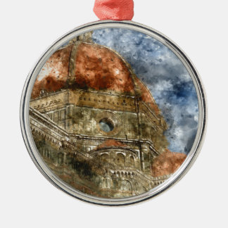Duomo Santa Maria Del Fiore and Campanile Christmas Ornament
