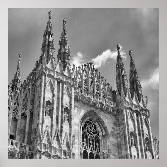 Duomo Spires Poster