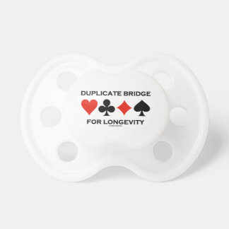 Duplicate Bridge For Longevity Baby Pacifiers