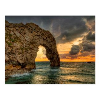 Durdle Door Jurassic Coastline| Dorset, England Postcard