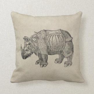 Durer Rhino Pillow