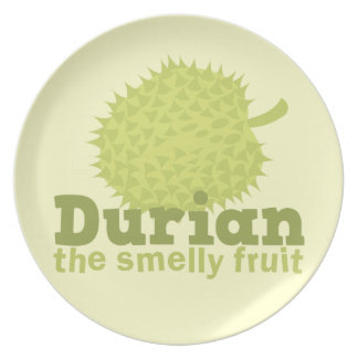 Durian the Smelly Fruit (from South east Asia) Plate