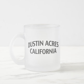 Dustin Acres California Frosted Glass Coffee Mug