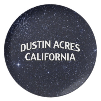 Dustin Acres California Plate