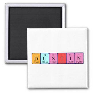 Dustin periodic table name magnet
