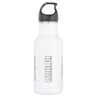 Dustin periodic table name water bottle