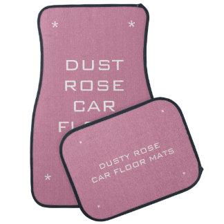 Dusty rose car floor mats car mat