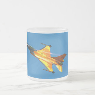 Dutch F-16 Fighting Falcon Jet Airplane Mug