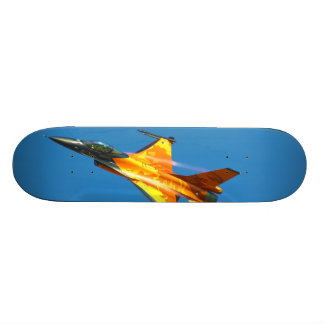 Dutch F-16 Fighting Falcon Jet Airplane Skate Board Decks
