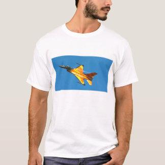 Dutch F-16 Fighting Falcon Jet Airplane T-Shirt