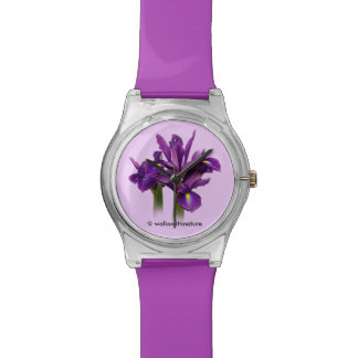 Dutch Iris Purple Sensation Watch