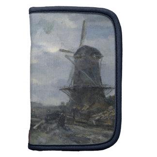Dutch windmill in moonlight Maris Planner