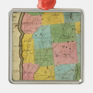 Dutchess, Putnam counties Silver-Colored Square Decoration