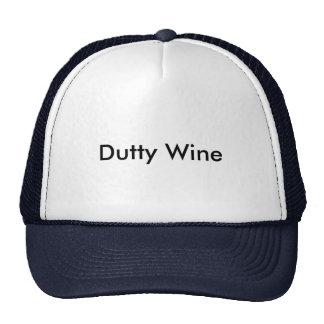 Dutty Wine Cap