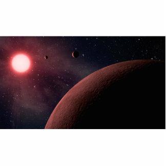 Dwarf Star Alien Planets Space Art Photo Cut Outs