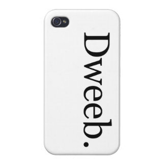 Dweeb iPhone Case Cases For iPhone 4