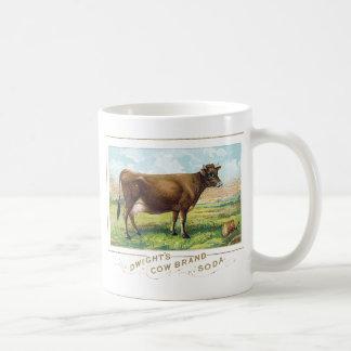 Dwight's Cow Brand Soda Coffee Mug