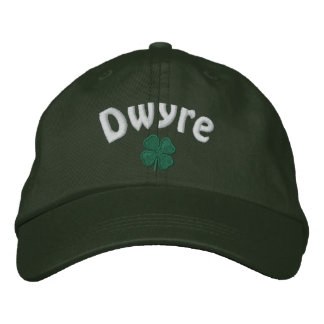 Dwyre - Four Leaf Clover - Customized Embroidered Hat