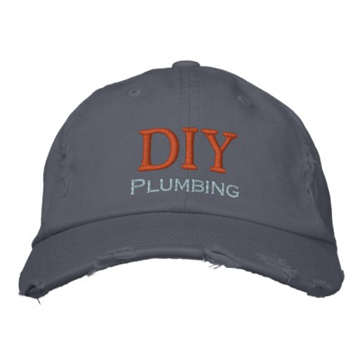 DYI Plumbing Embroidered Hat